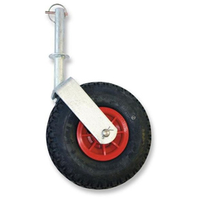 Pnuematic Trailer Jockey Dolly Wheel - Swivelling