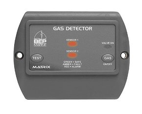 600-GDL Contour Matrix Gas Detector w/1 Sensor and LPG Switch (no valve)