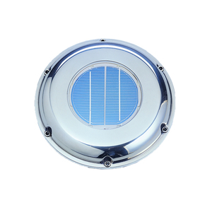 SS Low Profile Solar Vent for Boats & Motorhomes