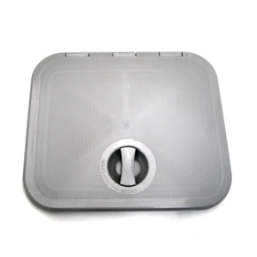 Grey ABS 1 Latch Access Hatch - 395x335mm