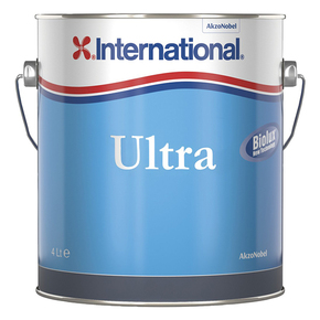 Ultra 2 Hard Antifouling Paint - Black - 4 Litres