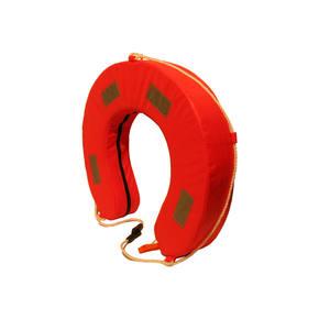 Fluo Orange H/Duty Horseshoe Lifebuoy w/Reflectors