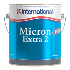 Micron Extra 2: Ablative Antifouling Paint - Blue - 4 Litre