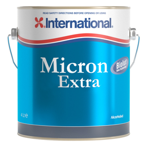 Micron Extra: Ablative Antifouling Paint - Black - 4 Litre