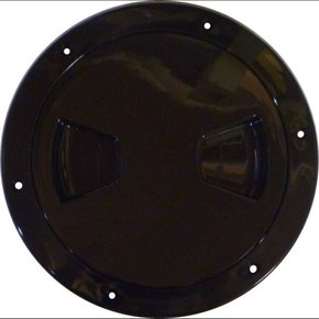 "Inspection Port - 4"" Black"