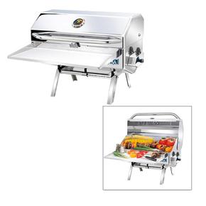Newport II Premium SS Oblong Barbecue (LPG)