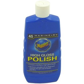 Fibreglass Pure Wax Polish 473mls (16 oz). (Marine & RV) - Liquid