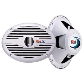 """Full Range 350w Marine Speakers 6x9"""" White - Pair"""