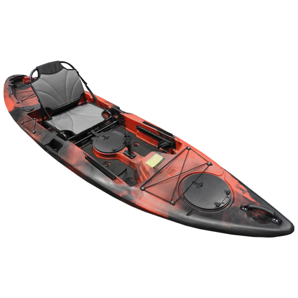 Yellowfin 10' (3m) Kayak w/Framed Deluxe Seat & Paddle - Fury Red