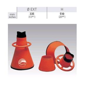 3 Piece Easy Store Orange Marine Bathyscope