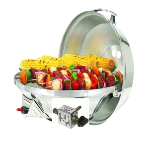 "Deluxe Version SS Kettle II 17"" Party Size Barbecue BBQ - A10-217L"