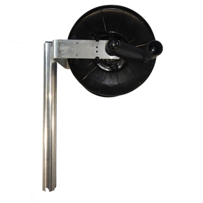 133A Longline Reel on Bracket- Rod Holder Mount