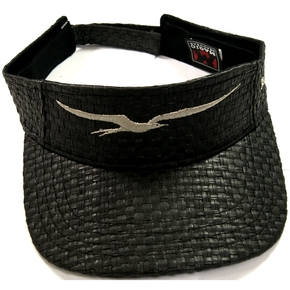 Frigate Black Open Fishing Visor Hat