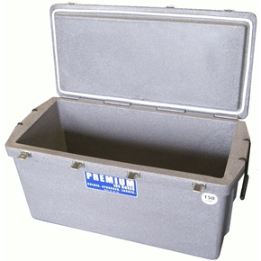 Heavy Duty Ice Box/Bin Long - 150 Litres - Marble