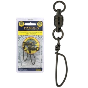 Ball Bearing Coastlock Snap Swivels #9 200kg 2-Pk