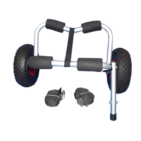 Kayak Trolley Cart Kayak / Dinghy Wheels with Stand Support