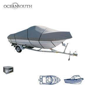 MA201-11 Trailerable Cabin Boat Cover 5.3-5.6m
