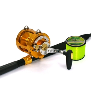 SB50M Single Speed Reel & Kilwell Rod Combo 15-24kg (w/ Line)