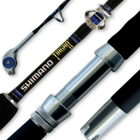 Tiagra 24KG Standup Game Fishing Rod with Roller Tip 5'6""""