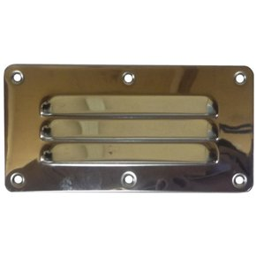 Louvred SS Vent - 125 x 65mm