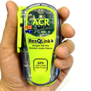 ResQLink Plus Floating MINI 406Mhz PLB w/ GPS