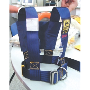 Adult Deck Safety Harness Only (No Tether/Lanyard)