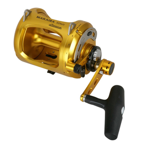 Makaira 50WII Speed O/Head Lever Drag Game Fishing Reel-24kg