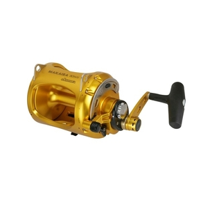 Makaira 80WII 2 Speed Overhead Lever Drag Game Fishing Reel - 37kg
