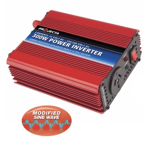 Modified Sine Wave Power Inverter 12v / 300 Watts
