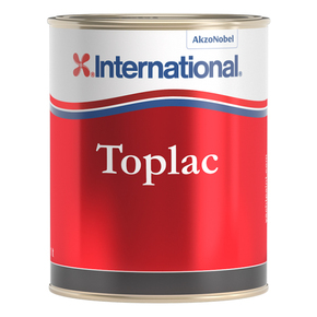 Toplac Silicone Enamel - Atlantic Grey - 500mL