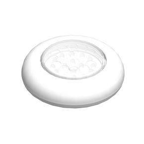 LED Surface Mt Light w/Push Switch -Splashproof - 105mm