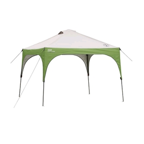 Straight Wall Gazebo / Sun Shade Shelter 3m x 3m