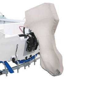 MA075-2 Full Outboard Motor Cover 3.5-6HP Grey