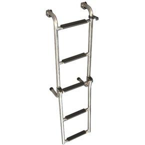 SS Face Mount Ladder - 3+2 Step