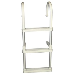 Removable 3 Step Alloy Boat Ladder (Gunwhale)