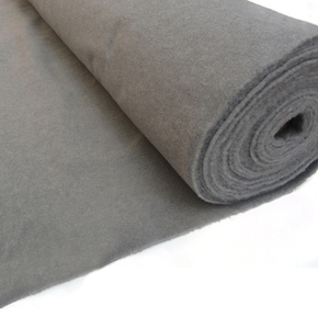 Wall/Hull Lining Carpet - Ash (Dark Grey) - Per metre (2m wide)