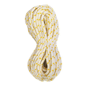 Precut 6mm x 20m Yacht Racing Braid - Yellow Fleck