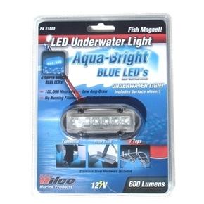 Blue Underwater/Above LED Light (25 Lumens)