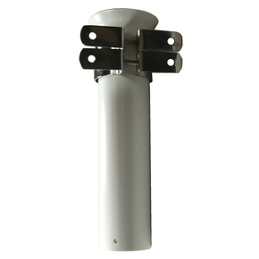 Side Mount PVC Rod Holder w/SS brackets