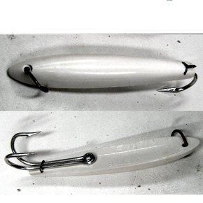 "Smiths Jig Style Nylon Lure- 6"" White (each)"