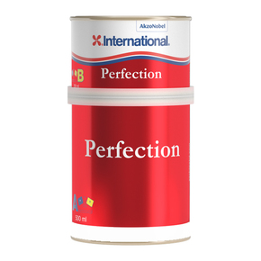 Perfection Polyurethane Top Coat (2 Pot) 750ml- Jet Black
