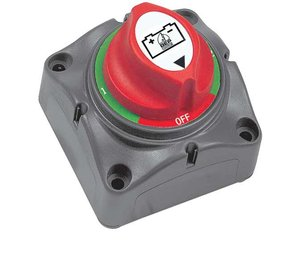 701-S Small Surface Mount Battery Switch (4-Position)