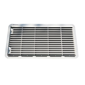 L500 Gas Fridge Lower Side Vent (grey) - 120-224 Litre models