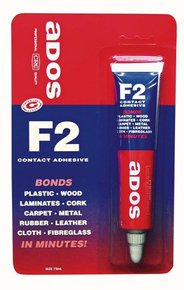 Ados F2 Contact Adhesive Glue- 75ml Tube