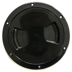 "Inspection Port - 5"" Black"