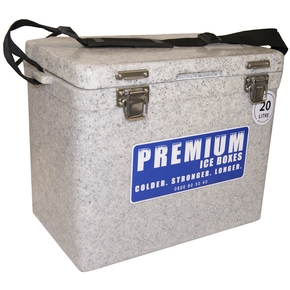 Heavy Duty Ice Box/Bin - 20 litres - Marble