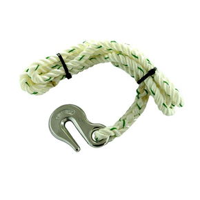 Cast SS Chain Snubber (6-8mm) w/ 12mm x 3m Nylon Rope