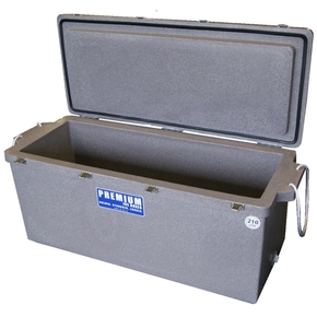 H/Duty Ice Box/Bin - Long / 210 Litres - Marble