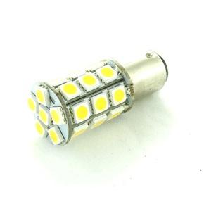 12V BAY15D 30 LED Bulb Offset Pins - Warm White