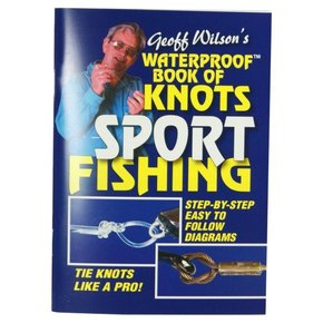 Waterproof book of knots - Sport Fishing